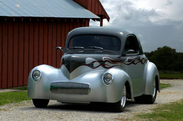 Photograph - 1941 Willis Coupe Hot Rod by Tim McCullough