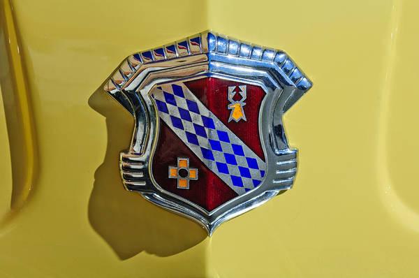 Photograph - 1946 Buick Convertible Emblem by Jill Reger