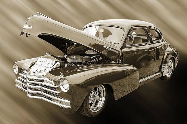 Photograph - 1946 Chevrolet Classic Car Photograph 6766.01 by M K Miller