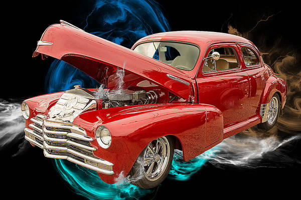 Photograph - 1946 Chevrolet Classic Car Photograph 6769.02 by M K Miller