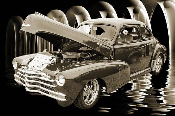 Photograph - 1946 Chevrolet Classic Car Photograph 6770.01 by M K Miller