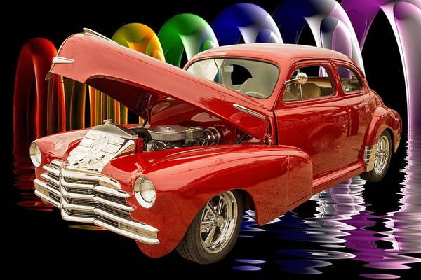 Photograph - 1946 Chevrolet Classic Car Photograph 6770.02 by M K Miller