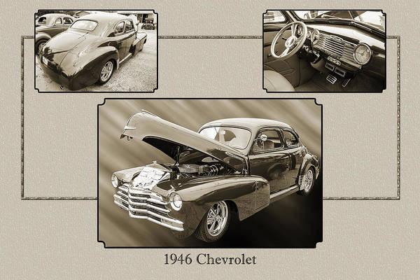 Photograph - 1946 Chevrolet Classic Car Photograph 6771.01 by M K Miller