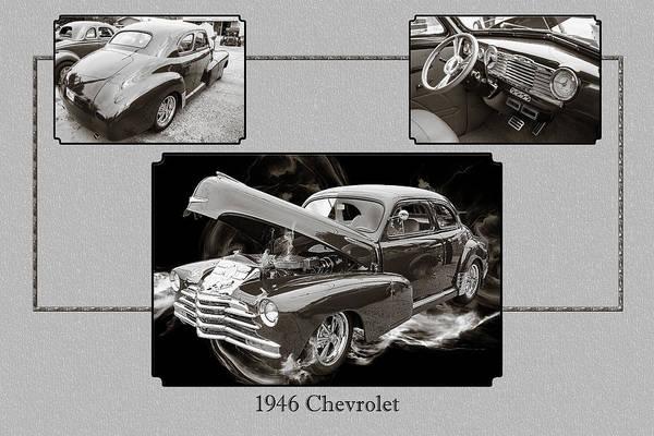 Photograph - 1946 Chevrolet Classic Car Photograph 6772.01 by M K Miller