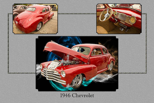 Photograph - 1946 Chevrolet Classic Car Photograph 6772.02 by M K Miller