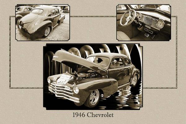 Photograph - 1946 Chevrolet Classic Car Photograph 6773.01 by M K Miller
