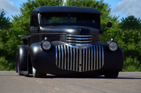 Photograph - 1946 Chevrolet Pickup by Tim McCullough