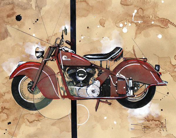 Painting - 1946 Chief by Sean Parnell