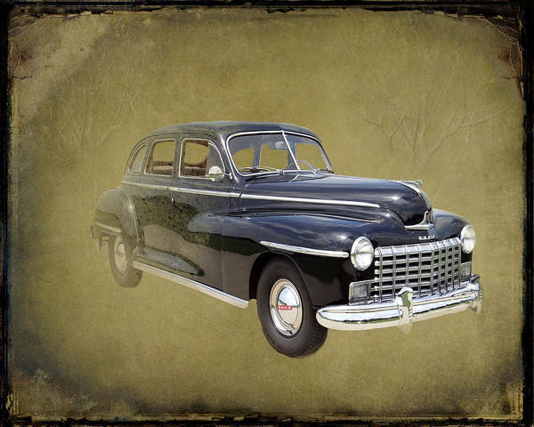 Photograph - 1946 Dodge D24c Sedan by David Dehner