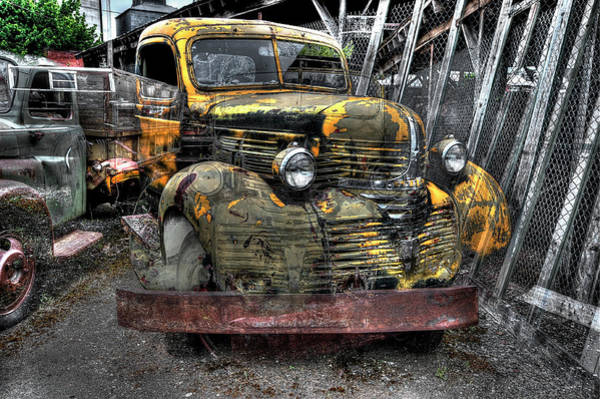Wall Art - Photograph - 1946 Dodge Flatbed Truck by Daniel Hagerman