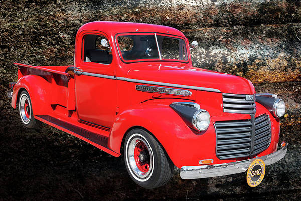 Photograph - 1946 Gmc Pickup Truck 5514 .02 by M K Miller