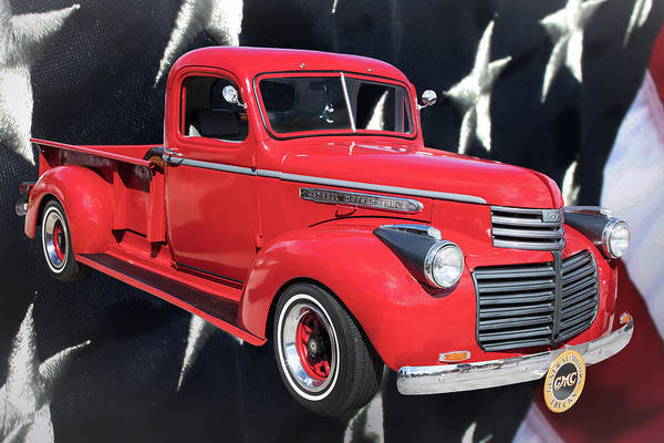 Photograph - 1946 Gmc Pickup Truck 5514 .03 by M K Miller