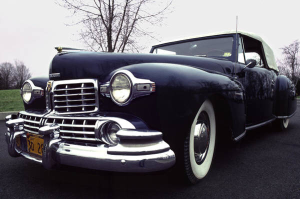 Wall Art - Photograph - 1947 Classic Lincoln Ragtop On Moody Day by Anna Lisa Yoder