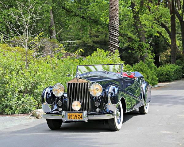 Photograph - 1947 Inskip Rolls Royce by Steve Natale