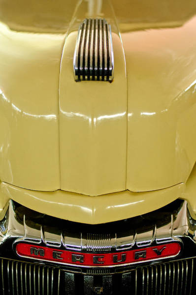 Photograph - 1947 Mercury Convertible Hood Ornament by Jill Reger