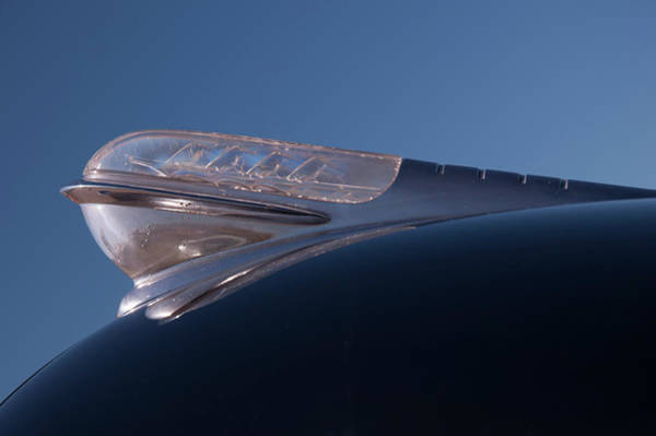 Photograph - 1947 Plymouth Hood Ornament by Chris Flees