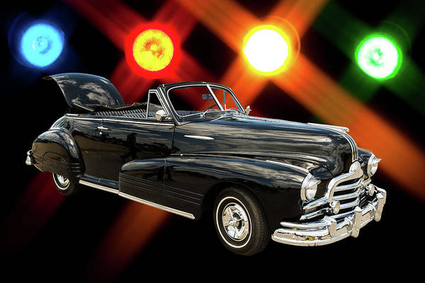 Photograph - 1947 Pontiac Convertible Photograph 5544.05 by M K Miller