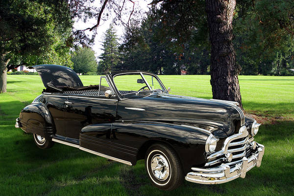 Photograph - 1947 Pontiac Convertible Photograph 5544.07 by M K Miller
