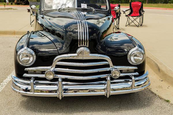 Photograph - 1947 Pontiac Convertible Photograph 5544.09 by M K Miller
