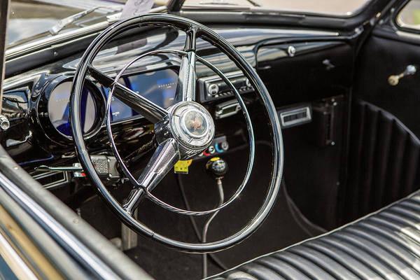 Photograph - 1947 Pontiac Convertible Photograph 5544.13 by M K Miller