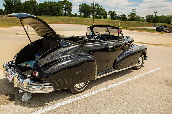 Photograph - 1947 Pontiac Convertible Photograph 5544.15 by M K Miller