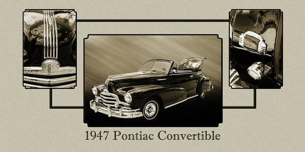 Photograph - 1947 Pontiac Convertible Photograph 5544.51 by M K Miller