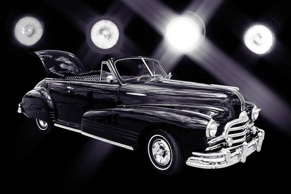 Photograph - 1947 Pontiac Convertible Photograph 5544.54 by M K Miller