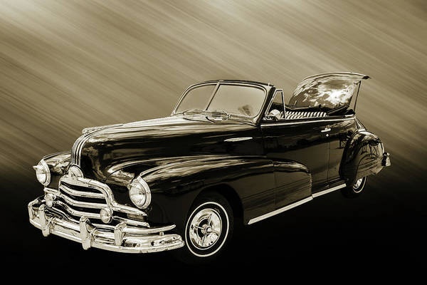 Photograph - 1947 Pontiac Convertible Photograph 5544.55 by M K Miller