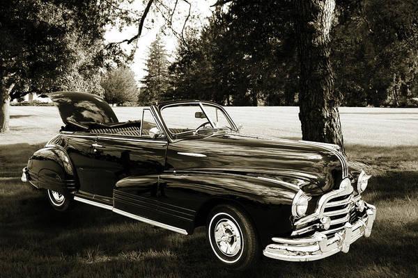 Photograph - 1947 Pontiac Convertible Photograph 5544.56 by M K Miller