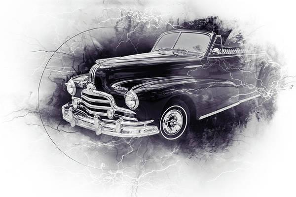 Photograph - 1947 Pontiac Convertible Photograph 5544.57 by M K Miller