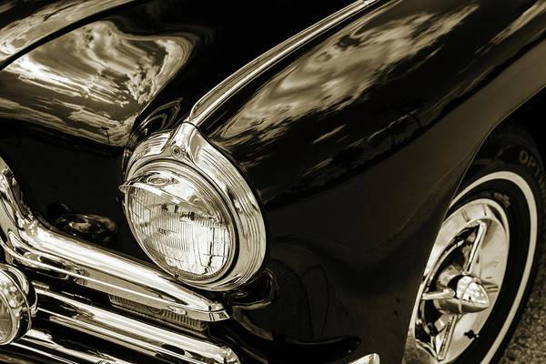 Photograph - 1947 Pontiac Convertible Photograph 5544.61 by M K Miller