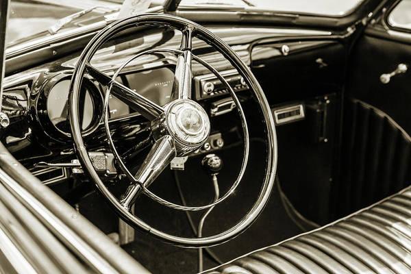 Photograph - 1947 Pontiac Convertible Photograph 5544.62 by M K Miller