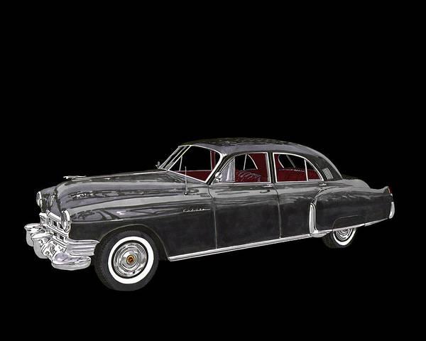 The Mac Wall Art - Painting - 1948 Cadillac Fleetwood Series 62 by Jack Pumphrey