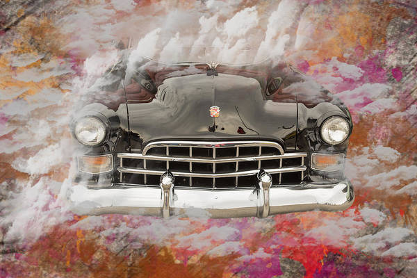 Photograph - 1948 Cadillac Sedan Classic Car Photograph 5708.02 by M K Miller