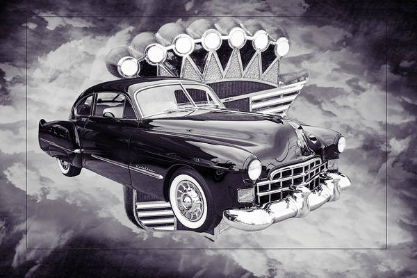 Photograph - 1948 Cadillac Sedan Classic Car Photograph 6707.01 by M K Miller
