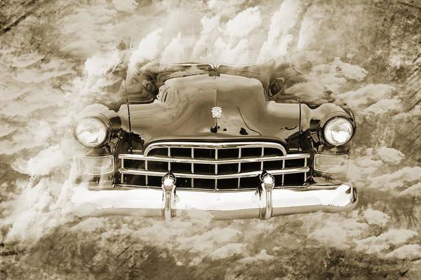 Photograph - 1948 Cadillac Sedan Classic Car Photograph 6708.01 by M K Miller