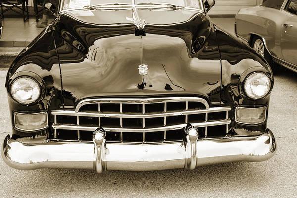 Photograph - 1948 Cadillac Sedan Classic Car Photograph 6711.01 by M K Miller