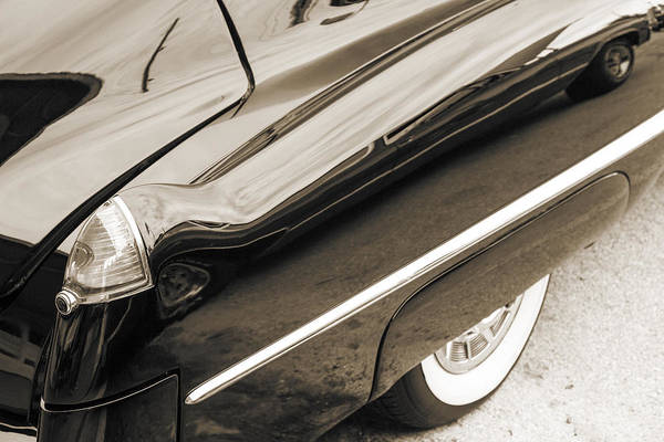 Photograph - 1948 Cadillac Sedan Classic Car Photograph 6720.01 by M K Miller