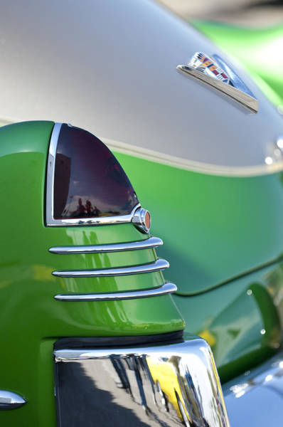 Photograph - 1948 Cadillac Taillight by Jill Reger