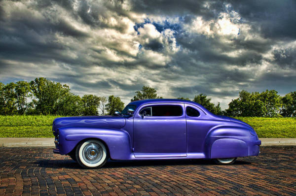 Photograph - 1948 Ford Custom Street Rod by Tim McCullough