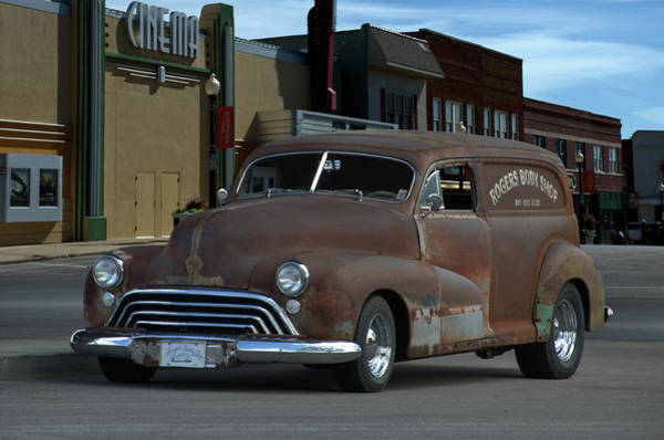 Photograph - 1948 Oldsmobile Sedan Delivery by Tim McCullough