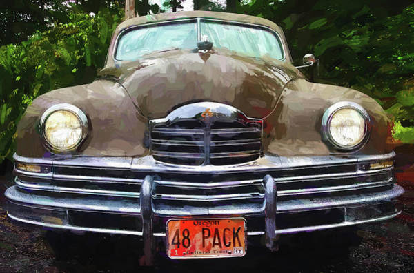 1948 Packard Super 8 Touring Sedan Art Print