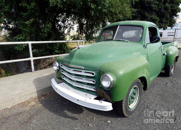 Photograph - 1948 Studebaker Truck by Charles Robinson