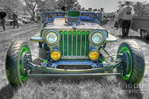 Photograph - 1948 Willys by Tony Baca