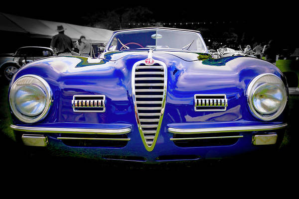 Photograph - 1949 Alfa Romeo 6c25 Swb Cabriolet 6c25 Swb Cabriolet by Jack R Perry