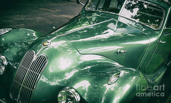 Bristol Photograph - 1949 Bristol 400 Classic Car by Tim Gainey