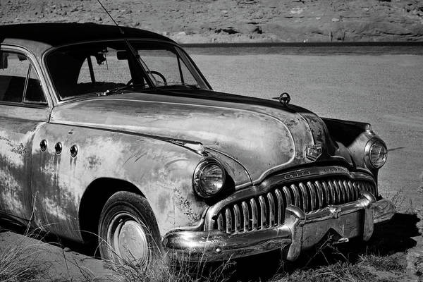 Photograph - 1949 Buick Eight Super I Bw by David Gordon