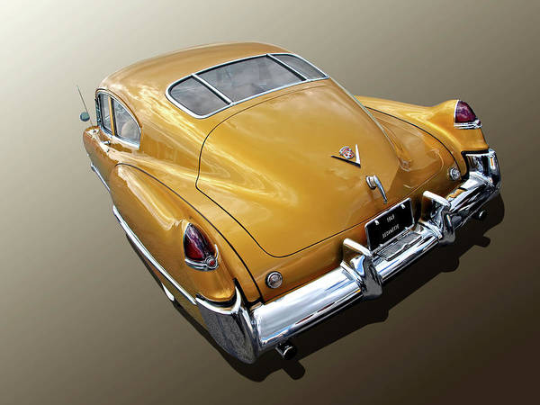 Wall Art - Photograph - 1949 Cadillac Sedanette Rear by Gill Billington