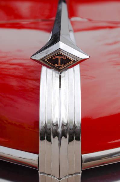 Photograph - 1949 Diamond T Truck Hood Ornament by Jill Reger
