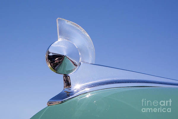 Photograph - 1949 Ford Hood Ornament by Kevin McCarthy